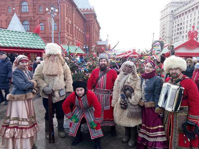 Ансамбль на масленицу г. Москва