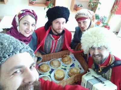 Масленица в народном стиле г.Москва